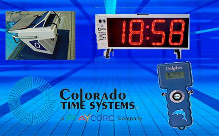 Colorado Time Systems  Оборудование для хронометража тренировок по плаванию