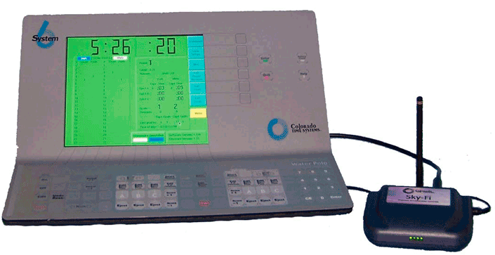 Консоль хронометража System 6